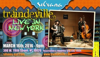 flyer - live at the silvana