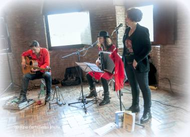 Roma, aprile 2016 - Reading Concerto al Museo della via Ostiense - pic by Patrizia Cortellessa